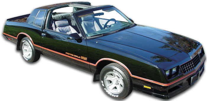 78 87 El Camino G Body Classic Car Parts Dixie