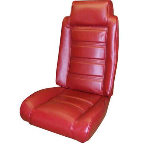 78 80 Premium High Back Bucket Seat Upholstery Set Carmine